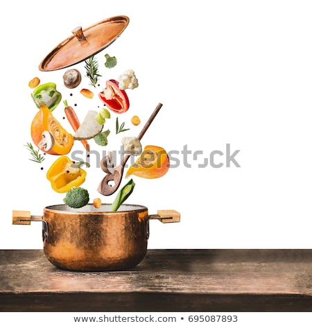 Stockfoto: Vliegen · tafel · voedsel · huis · achtergrond