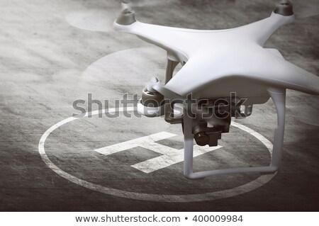 klaar · video · vliegen · hemel · technologie - stockfoto © Kor