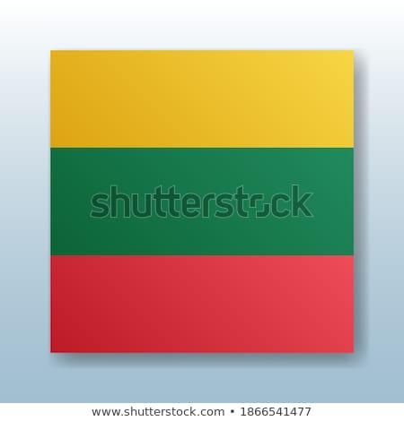 ボタン シンボル リトアニア フラグ 地図 白 ストックフォト © mayboro1964