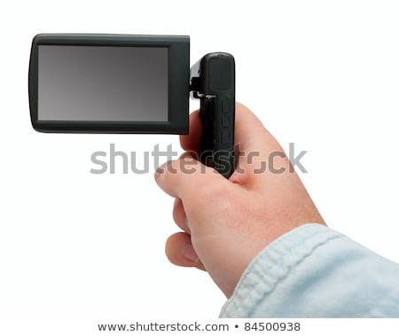 Blank Display of Handycam Camcorder Stock photo © stevanovicigor