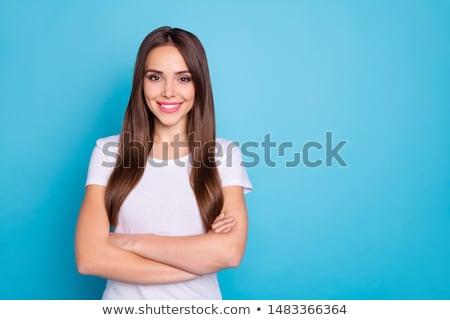 портрет Nice Lady молодые кавказский позируют Сток-фото © acidgrey