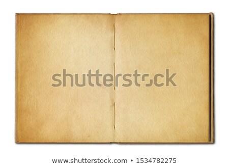 Oude dagboeken Stockfoto © Daboost