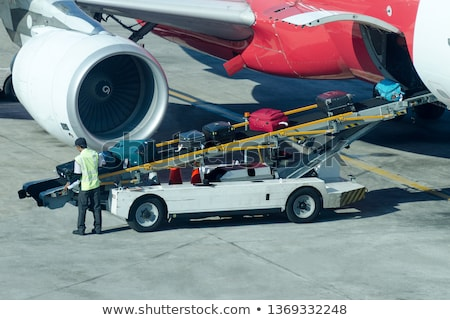 load luggage on plane Stock photo © adrenalina