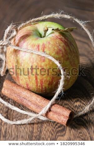 リンゴ シナモン 健康 フルーツ 緑 デザート ストックフォト © rojoimages