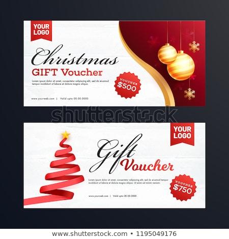 christmas · bonus · geschenken · euro · merkt · witte - stockfoto © marinini