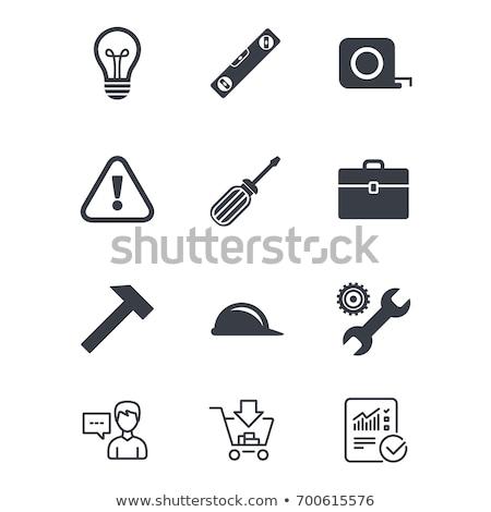 Electric screwdriver in case Stock photo © ozaiachin