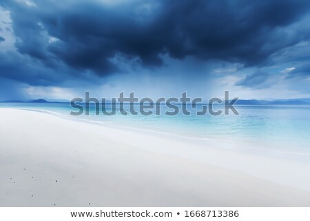 dark clouds over sea stock photo © paha_l
