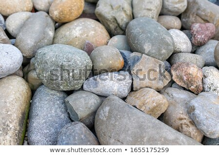 Seashore with big stones Stock photo © Kotenko