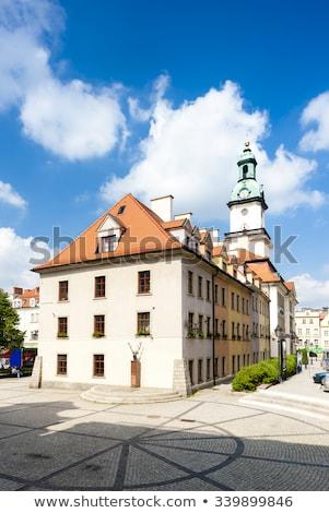 town hall of jelenia gora plac ratuszowy silesia poland stock photo © phbcz