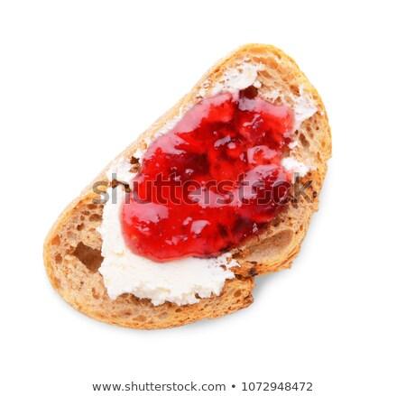 パン · カマンベール · チーズ · ジャム · 食品 · フルーツ - ストックフォト © digifoodstock
