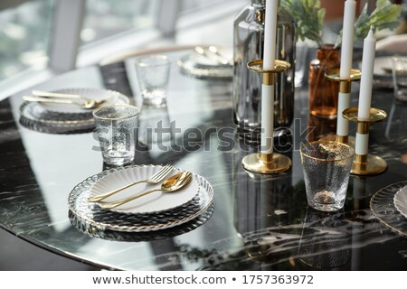 Stylish tableware Home Stock photo © maknt