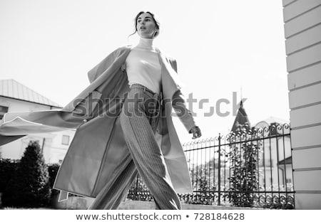 мода стиль портрет молодые красоту женщину Сток-фото © konradbak