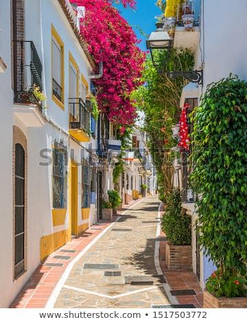 renkli · sokak · kasaba · Bina · renk - stok fotoğraf © taigi