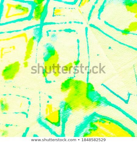 単純 青 マーカー 手 書く 透明な ストックフォト © ivelin