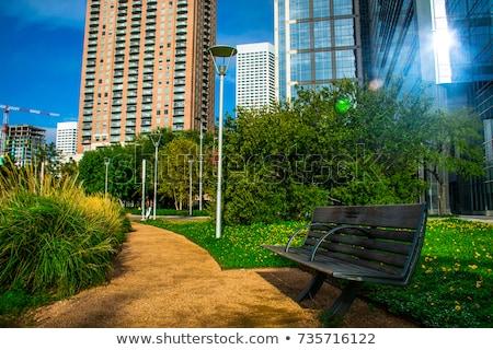 Houston ontdekking groene park centrum Texas Stockfoto © lunamarina