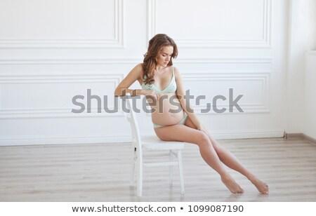女性 · ドレッシング · ガウン · 肖像 · 色 · 女性 - ストックフォト © artfotodima