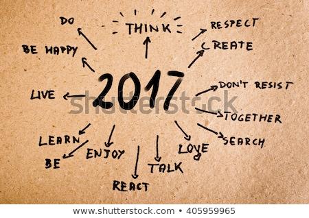 goals list year 2017 stock photo © ivelin