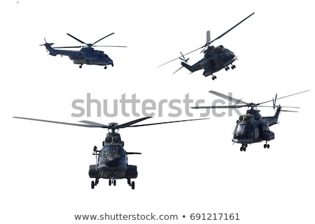 A sky with a chopper flying Stock photo © bluering