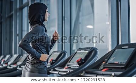 トレッドミル · フィットネス · 健康 · トレーニング · アイコン - ストックフォト © bluering