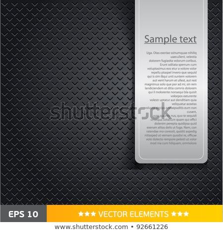 Ibolya fém technológia absztrakt csiszolt textúra Stock fotó © molaruso