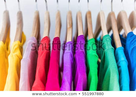 Colorful textiles in many colors Stock photo © julianpetersphotos