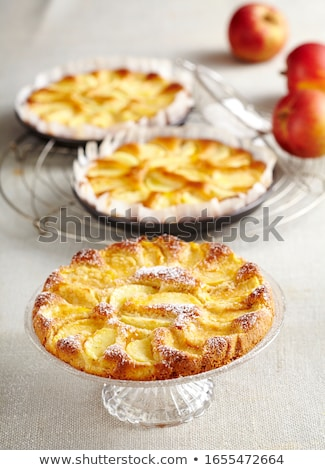 Small apple filled cakes Stock photo © Digifoodstock