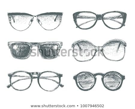 Eyeglasses sketch icon. Stock photo © RAStudio