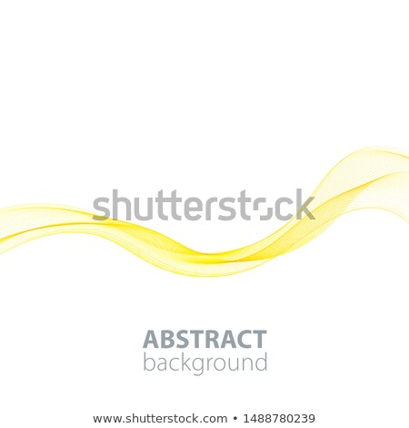 Abstract Golden Background. Abstraction Waved Modern Stock photo © olgaaltunina