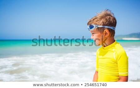 anne · bebek · oynama · plaj · plaj · kumu · aile - stok fotoğraf © majdansky