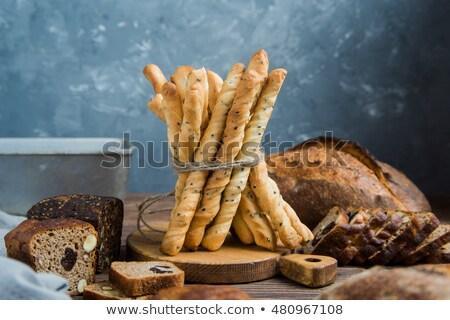 Eigengemaakt baguette brood verschillend markt kleur Stockfoto © mady70
