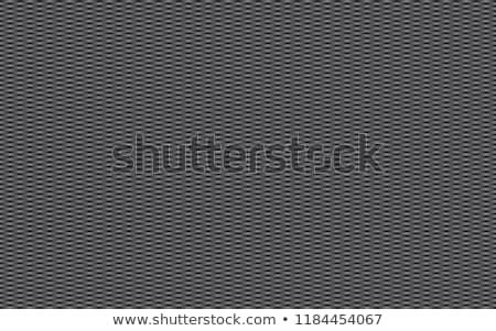 Abstract dark grey carbon background, metallic apperance, vector Stock photo © kurkalukas