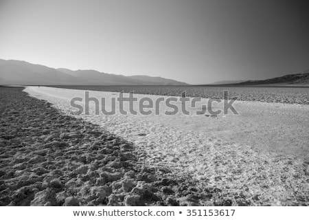 Dry lake under blue sky Stock photo © All32
