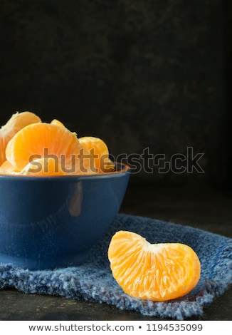 bowl of tangerine segments Stock photo © Digifoodstock