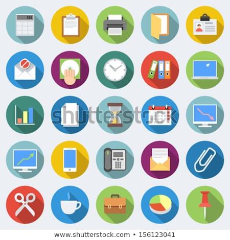 stopwatch · icon · verschillend · stijl · kleur · vector - stockfoto © ahasoft