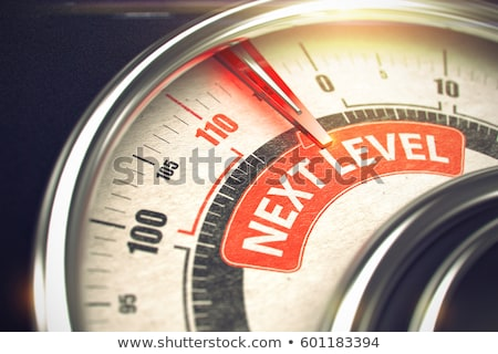 next level   business mode concept 3d stock photo © tashatuvango
