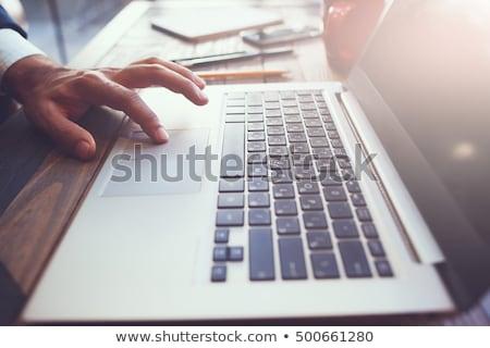 Edit Content - Concept on Laptop Screen. Stock photo © tashatuvango