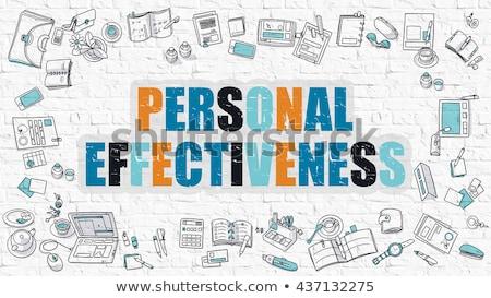 pessoal · produtividade · rabisco · projeto · escuro - foto stock © tashatuvango