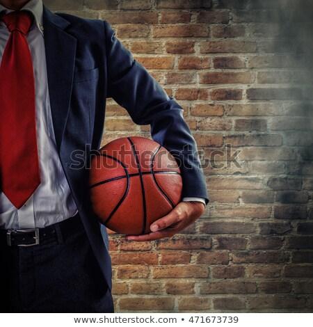 Business Coaching on Brick Wall. Stock photo © tashatuvango