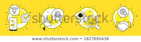 set of musical component Stock photo © get4net