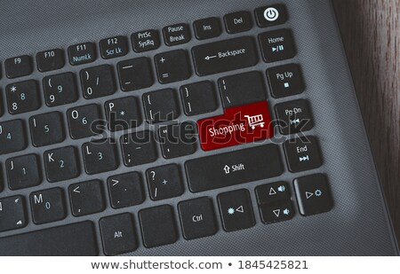 new image   clicking red keyboard button stock photo © tashatuvango