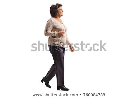 woman walking with senior woman Stock photo © IS2