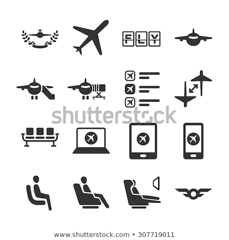 Business class airline tickets online mobile app Stock photo © stevanovicigor