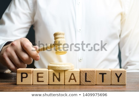 Stock photo: penalties