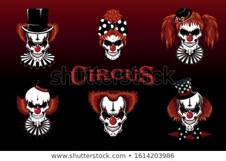 Stock photo: Vector Illustration Of A Evil Clown