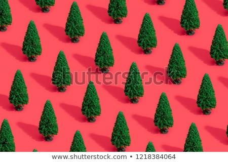 抽象的な クリスマスツリー パステル 装飾 陽気な ストックフォト © isveta