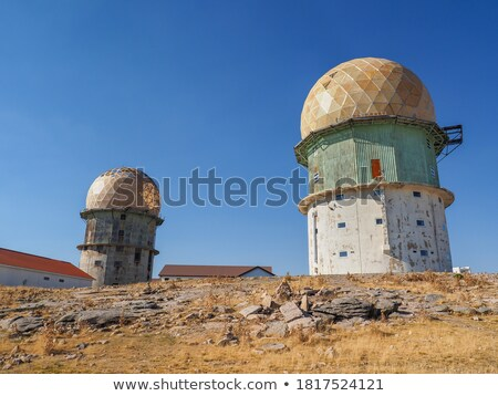 Famous Old radar station. Portugal Stock photo © joyr
