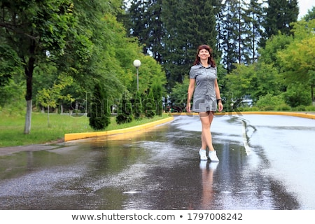 Young Woman Standing In Park stock photo © monkey_business