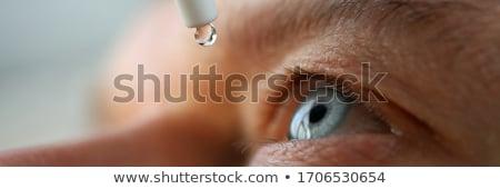 Stock photo: Eye drops