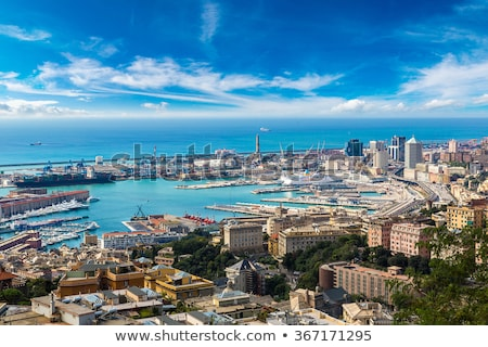 Lighthouse of Genoa in Italy Stock photo © boggy