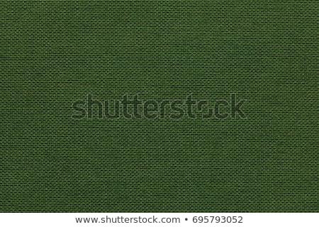 grezzo · tessuto · verde · oliva · colore - foto d'archivio © ivo_13